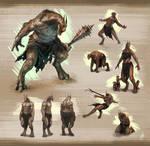 Minotaur-ish Warrior Concept