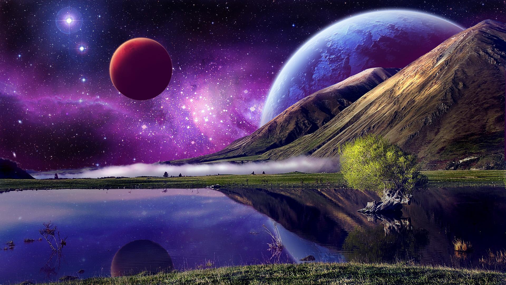 Epic Space Wallp...1080p Wallpaper Space
