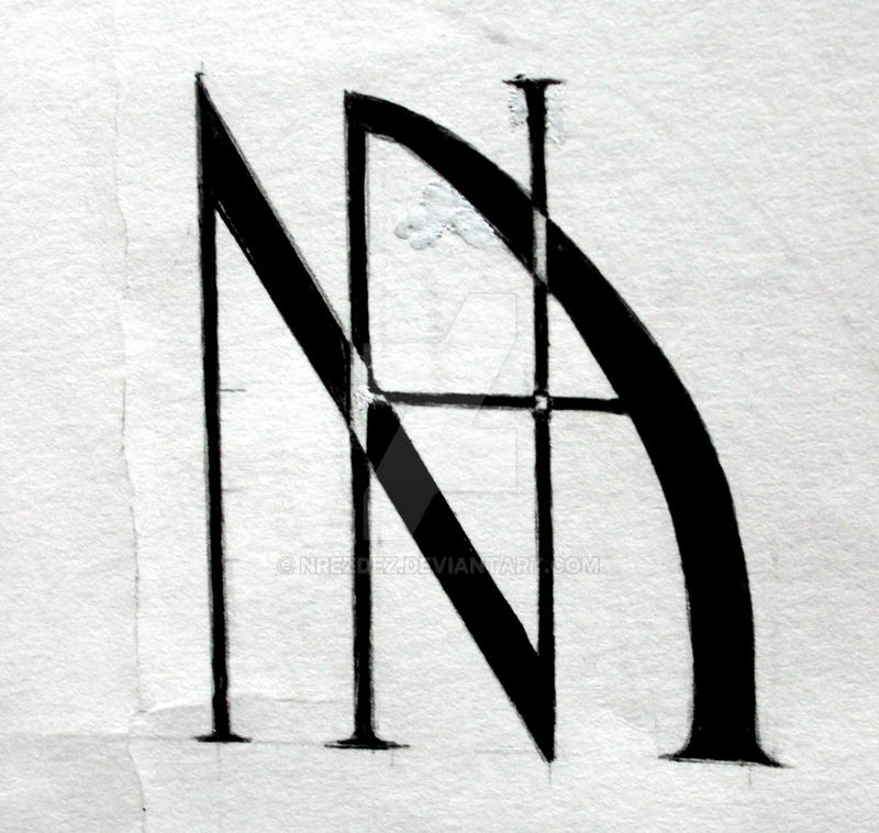 Initials Logo Design 3 By NRezDez On DeviantArt