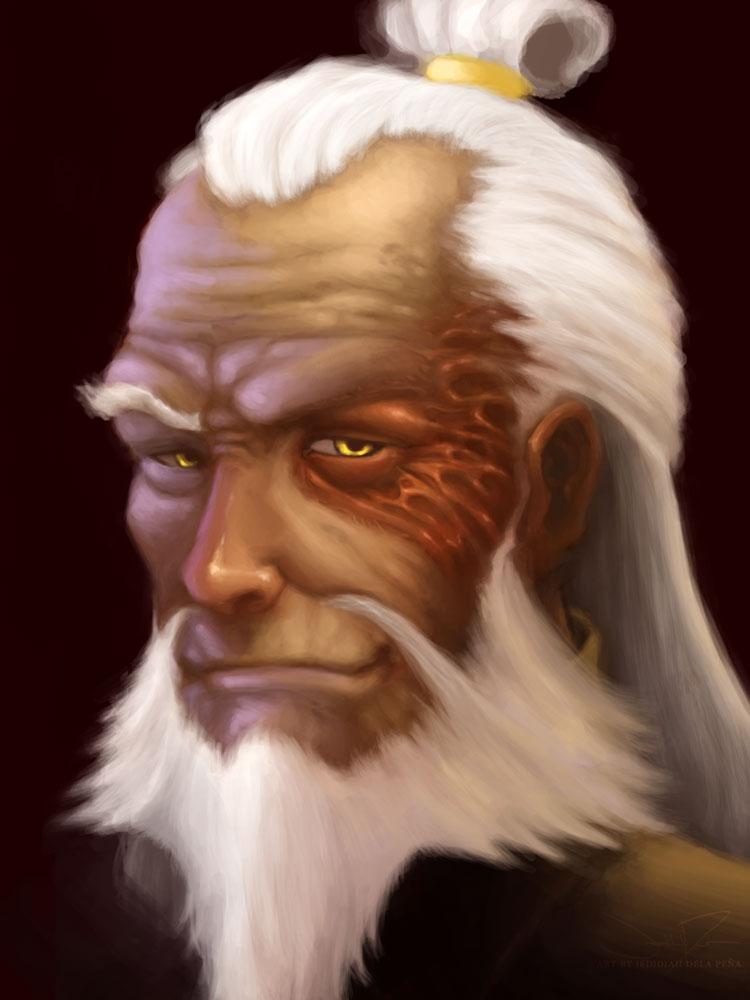 Old Man Zuzu by vagrant-angel