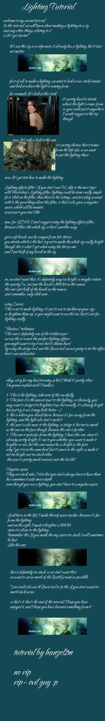 Lighting tutorial by hanzel2m