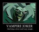 MOTIVATOR-Vampire Joker