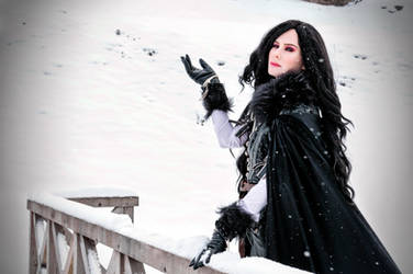 Winter photoshoot by DungeonQueen