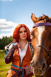 Triss and Roach