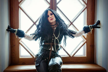 Another Yennefer cosplay