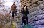 Geralt and Yennefer: The Witcher 3