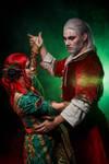 Geralt and Triss dance