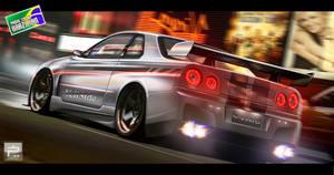 Nissan R34 GTR Vspec II Nur VE