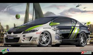 Honda City Monster Energy
