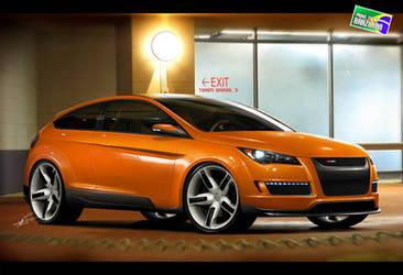 Ford Focus WSE - WBT 2010 by kairusevon