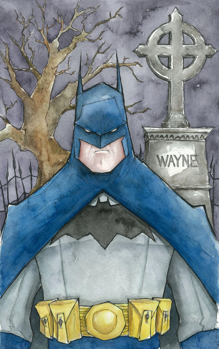 batman by mjfletcher