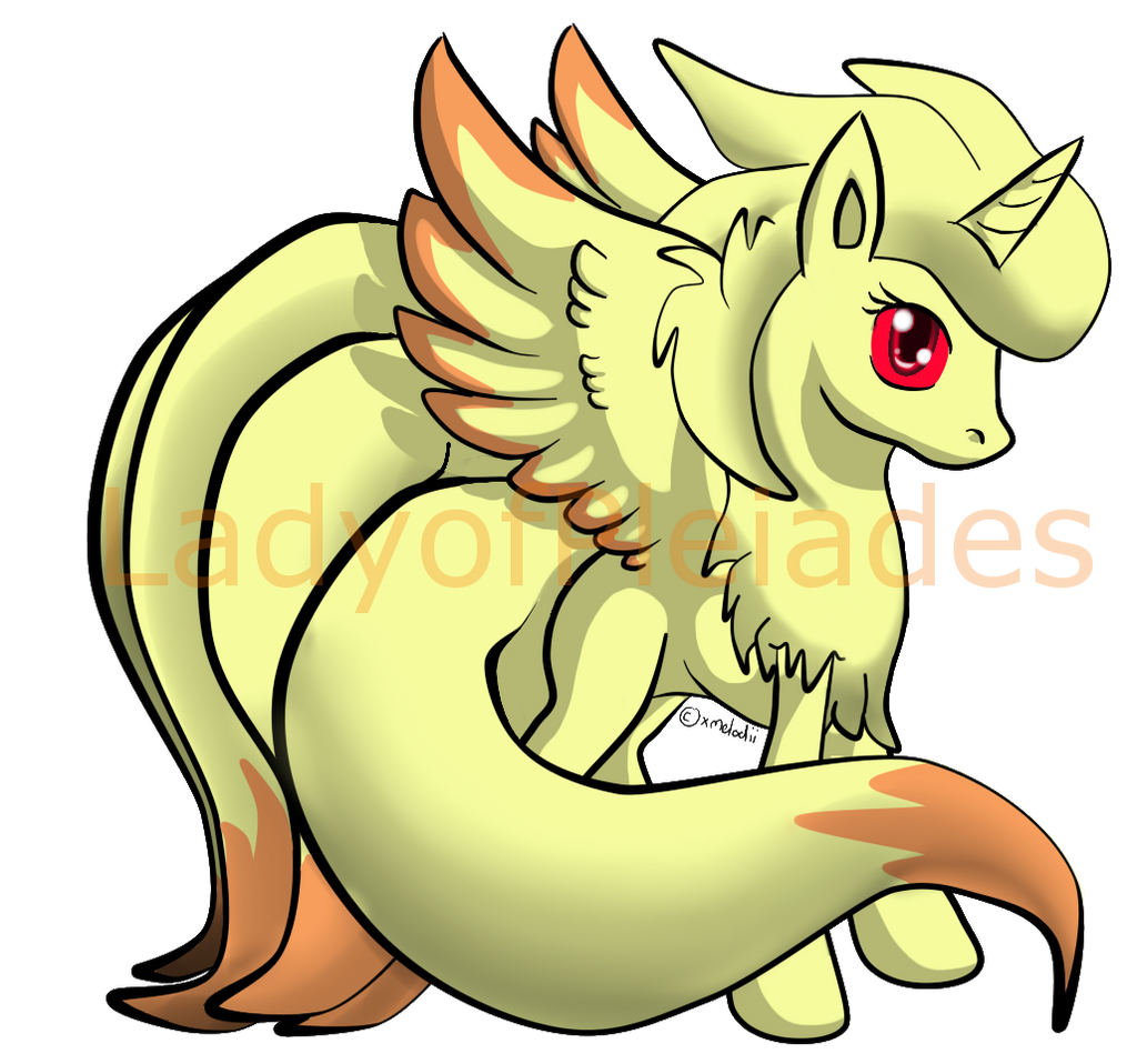 Ninetales Pony Custom By ZenKitsune