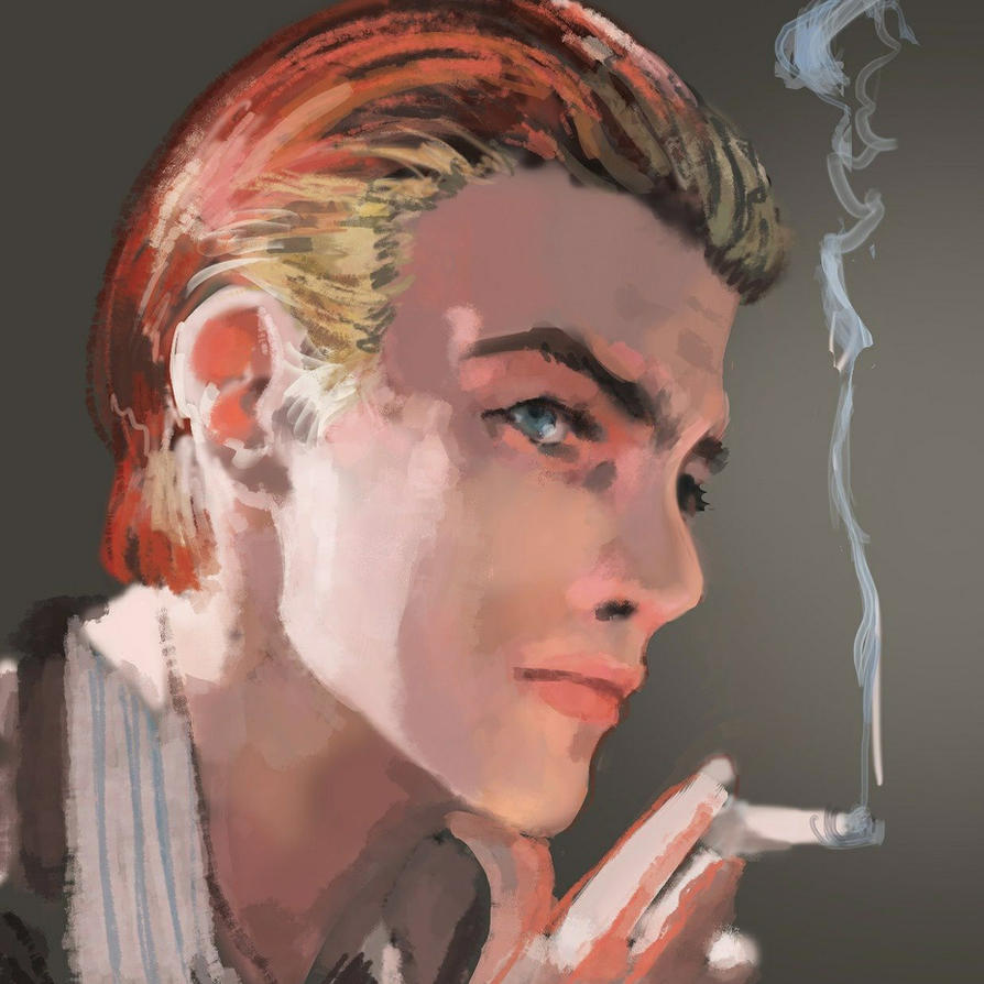 David Bowie Portrait by CannotBeUnseen