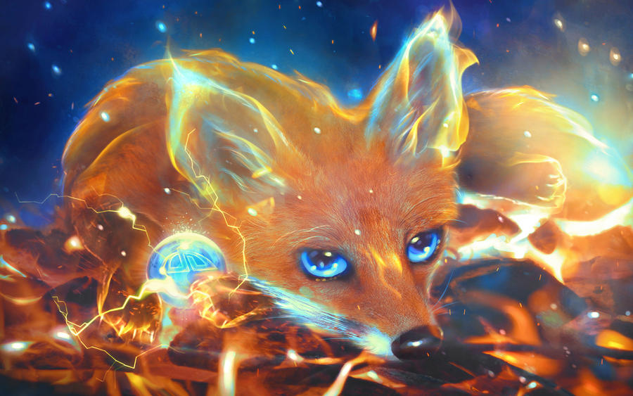 Firefox Wallpaper By MariLucia