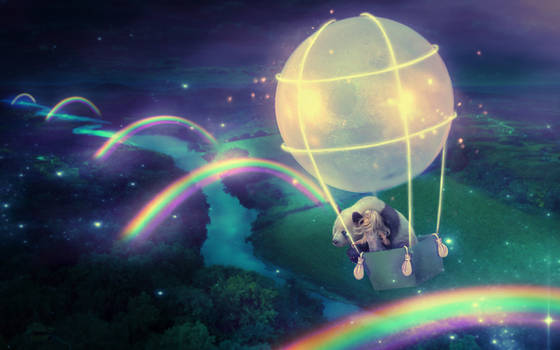 Land of Moon Rainbows