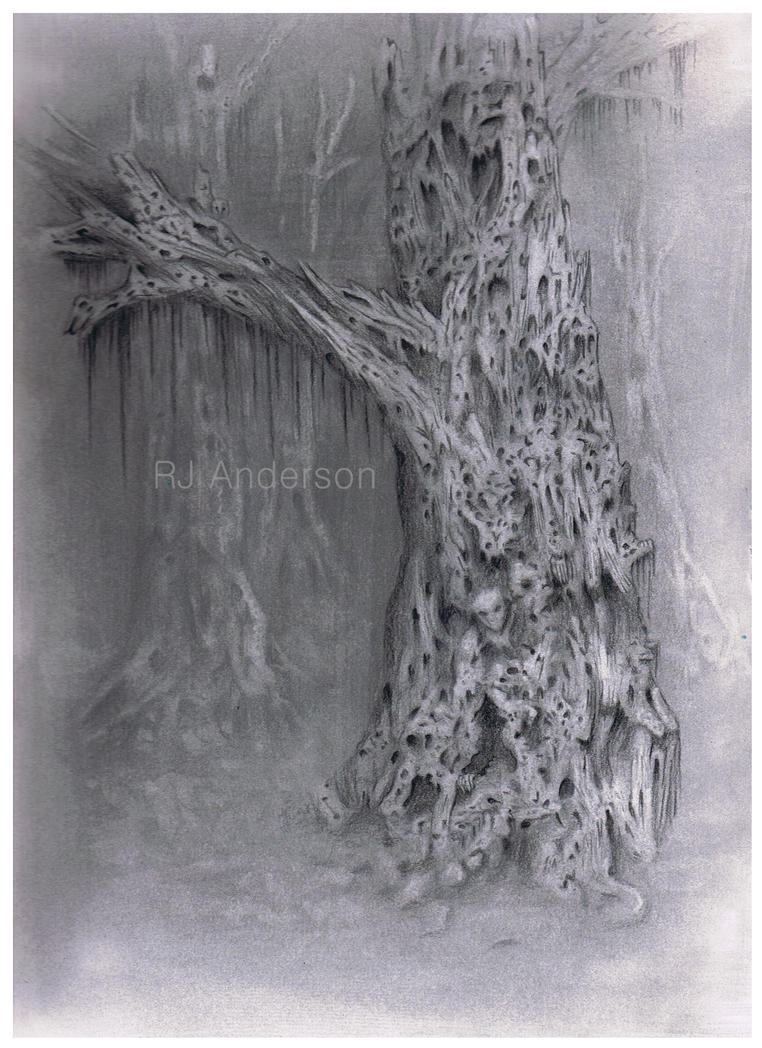 The haunted tree (Unfinished) by rjannelle