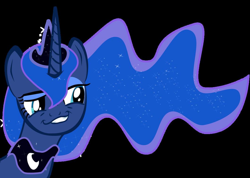 Mlp Princess Luna Smirk by pintara