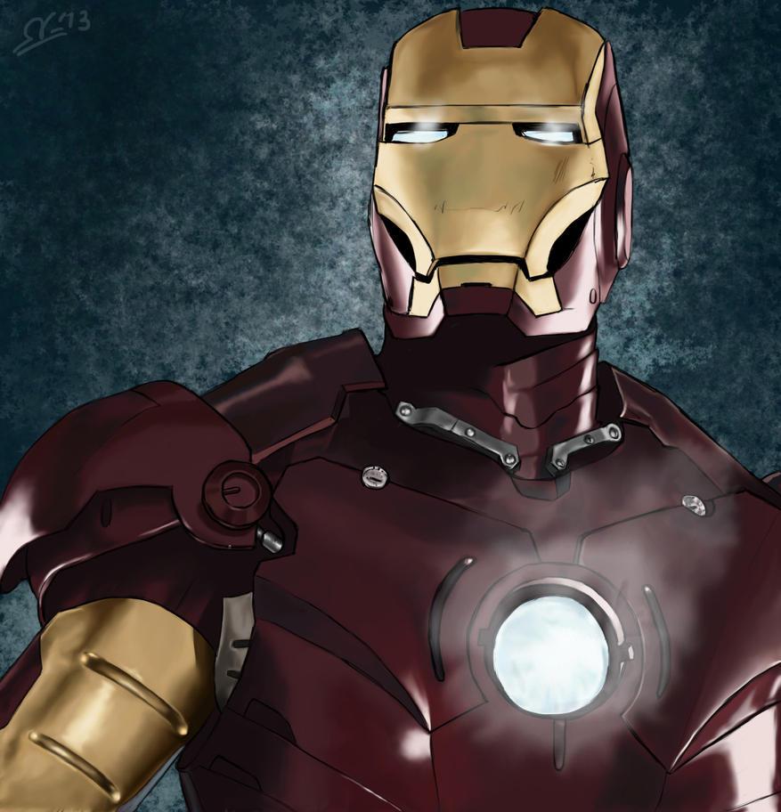 Iron man by nikokita92