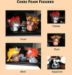 Chibi Foam Figures