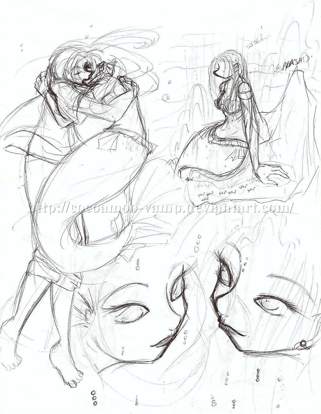 Glen Keane Art Ariel
