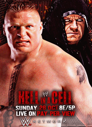Hell In a Cell 2015 Custom Poster by Daniel619Editions