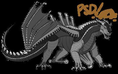 Peregrine's MudWing Base [PSD Ver.] [F2U]