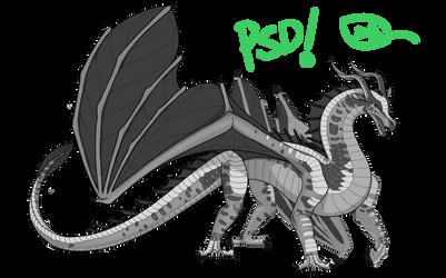 Peregrine's LeafWing Base [PSD Ver.] [F2U]