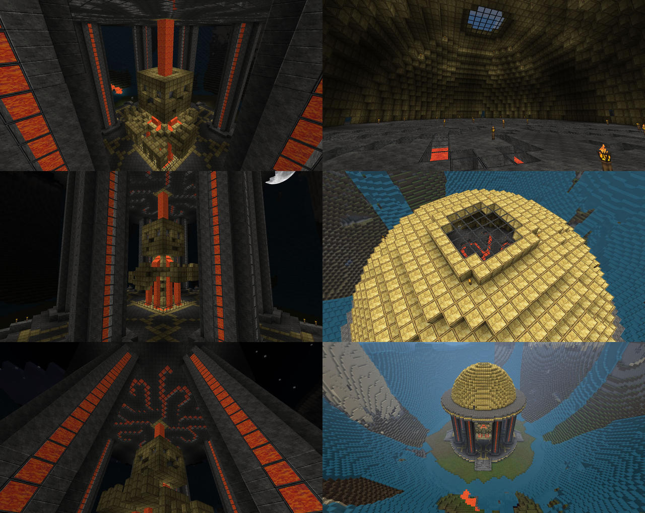 Minecraft - Golden Shrine by lilshizzy