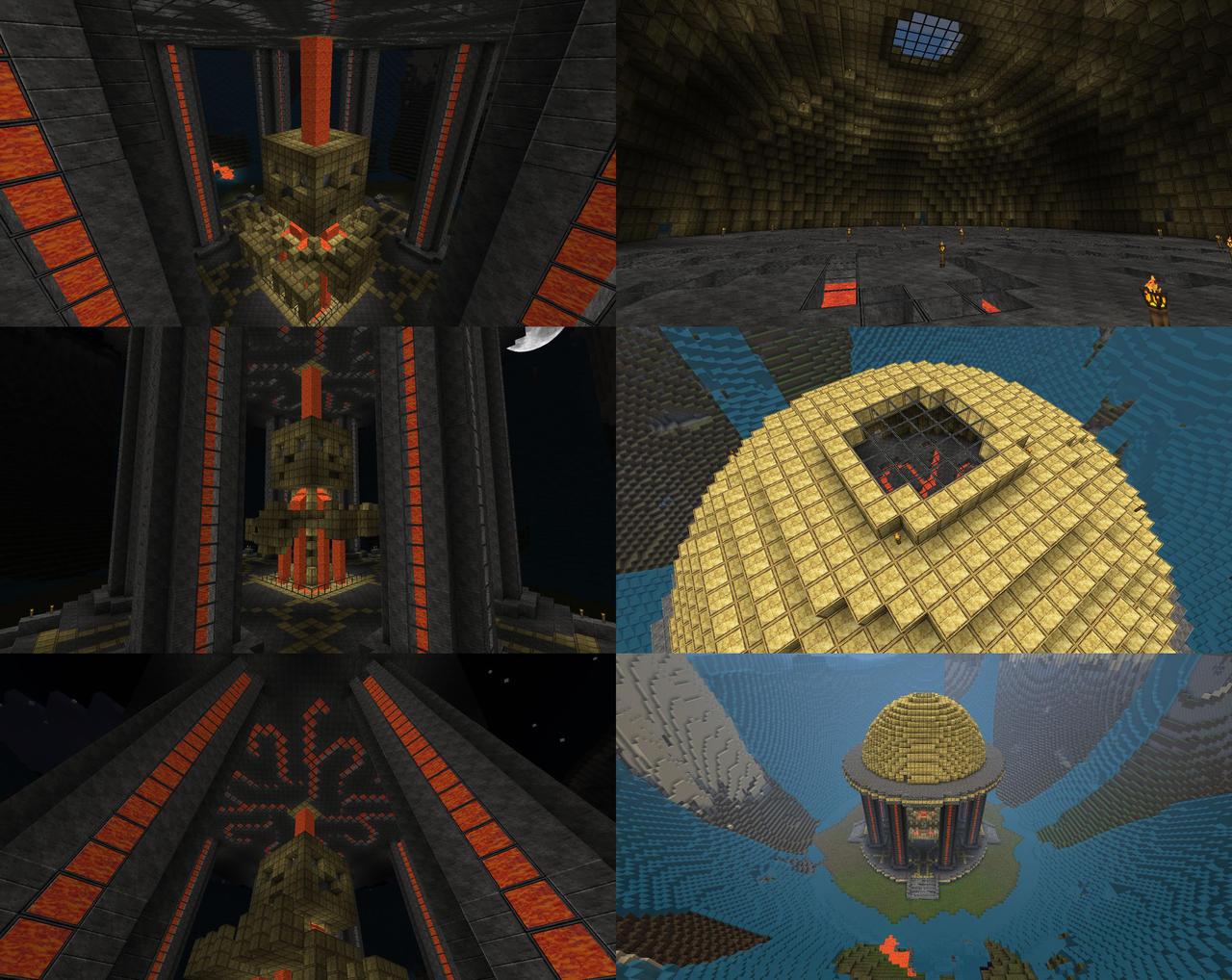 Minecraft - Golden Shrine by lilshizzy