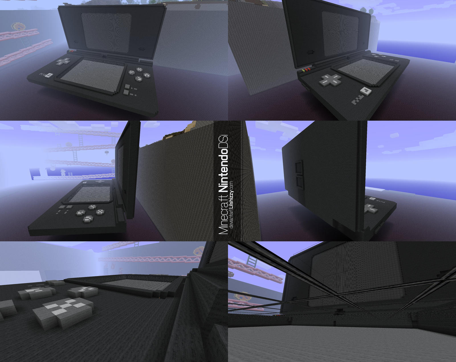 Minecraft - Nintendo DSi by lilshizzy