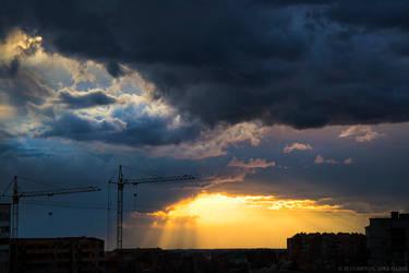 Black Sunset by ZiCompton