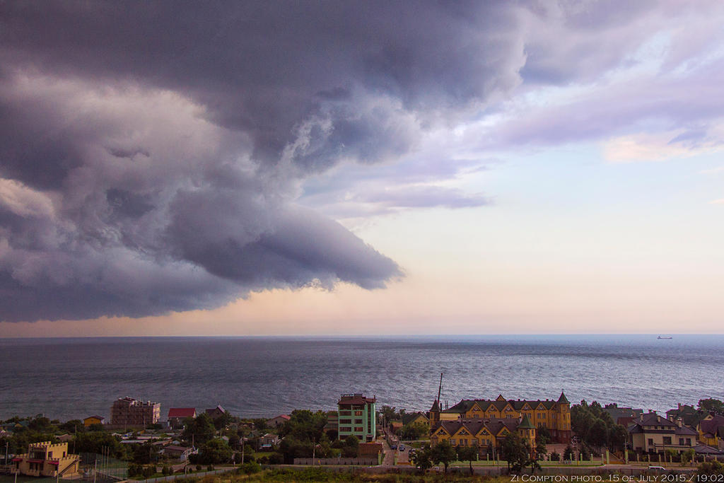 15 of July / Stormy Evening by ZiCompton