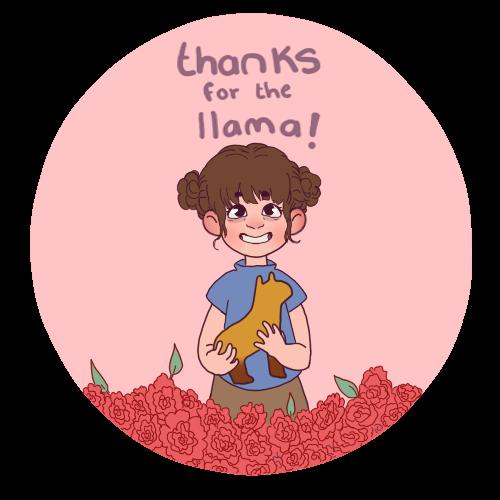 Gracias por la Llama!