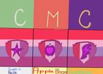 CMC (cutie marks) by AnnieHeart007