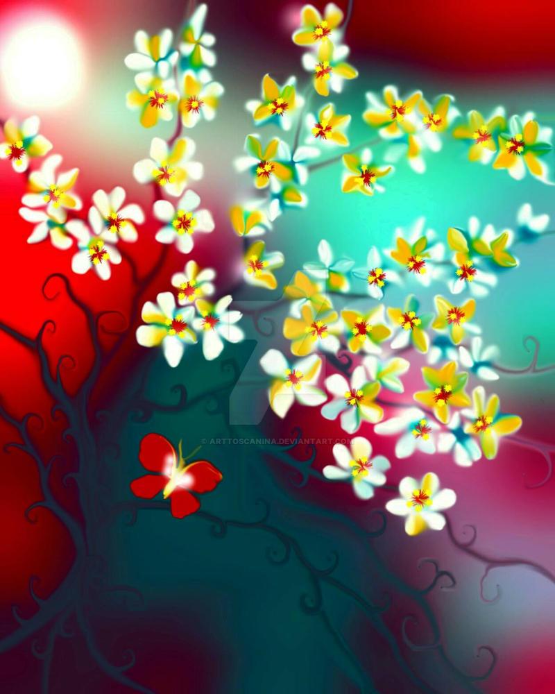 My Heart Springing by ArtToscanina