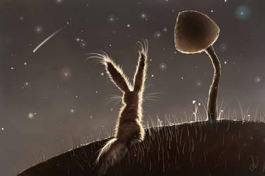 Mushroom Dream by RoxyInsomniacBunny