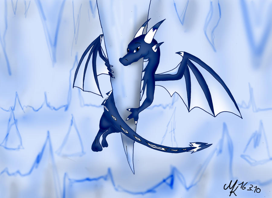 Ice Dragon Drawing Easy Ice Dragon Drawings