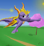 Just fly .: Spyro and Sparx :.