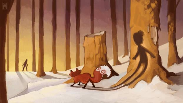 Dimitri the Fox Child keyframe