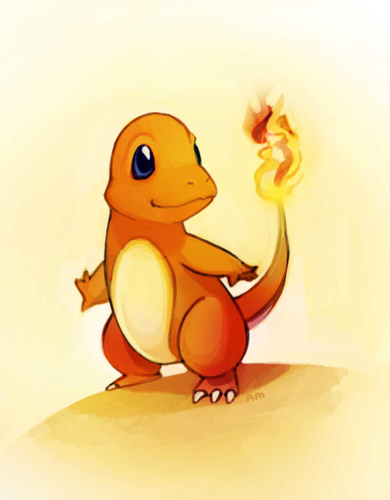Charmander by AmandaMullins