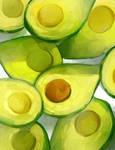 Hello avocado by AmandaMullins