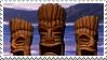 Tiki Stamp 4 by karastamps