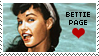 Bettie Page Stamp 2 by karastamps