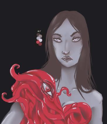 The Fleshmaiden by ryuuwho