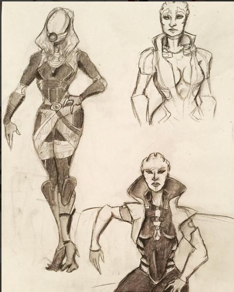 Mass Effect Babes by ryuuwho