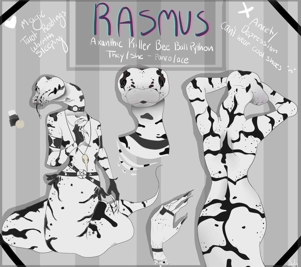 Rasmus Ref by ryuuwho