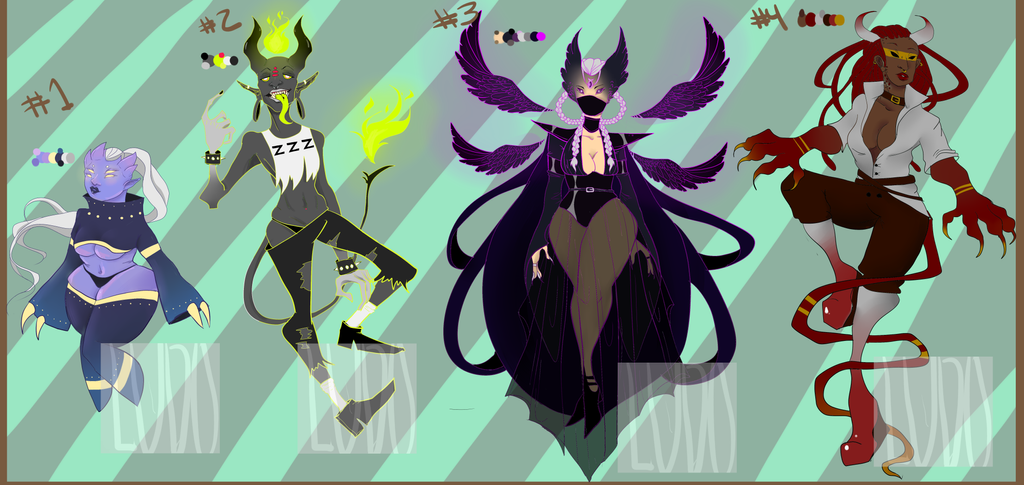 Adopts! {OPEN} by ryuuwho