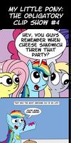My Little Pony: The Obligatory Clip Show Part 4