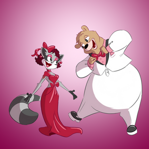 Happy Valentines Day from Eve and Chad!