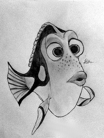 Dory Drawing By Kaitlin73 On DeviantArt